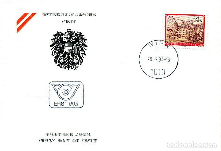 AUSTRIA, ,CARTA, ,1984 , MICHEL 1791 , FDC (Sellos - Extranjero - Europa - Austria)