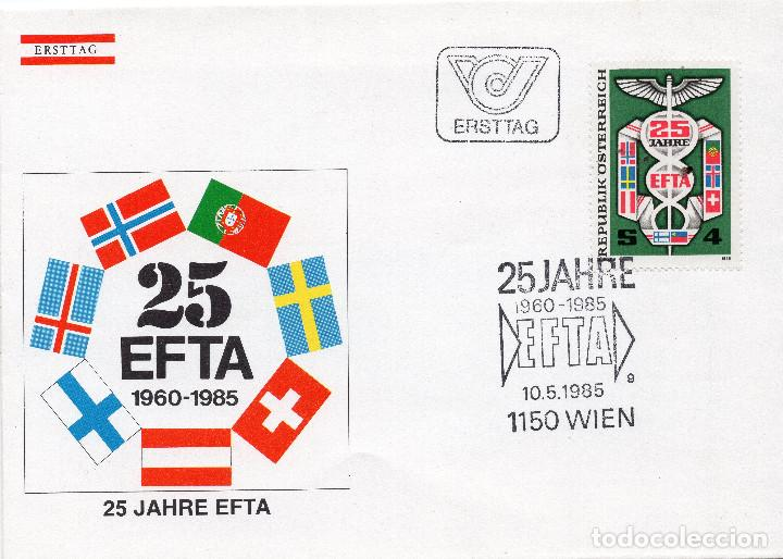 AUSTRIA, ,CARTA, ,1985 , MICHEL 1813 , FDC (Sellos - Extranjero - Europa - Austria)