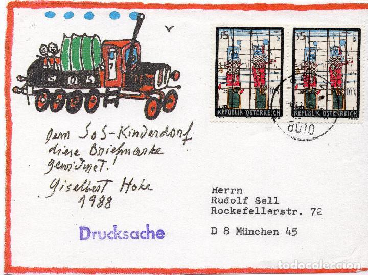 AUSTRIA, ,CARTA, ,1988 , MICHEL 1938 , CTO (Sellos - Extranjero - Europa - Austria)