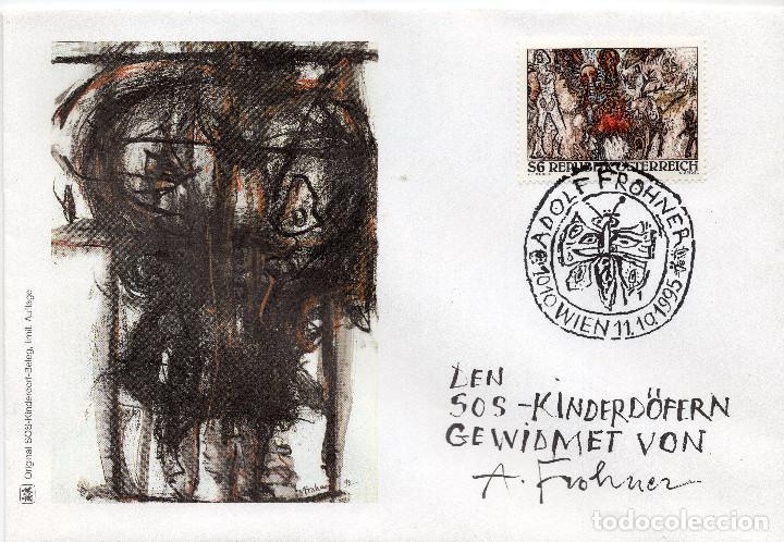 AUSTRIA, ,CARTA, ,1995 , MICHEL 2166, FDC (Sellos - Extranjero - Europa - Austria)