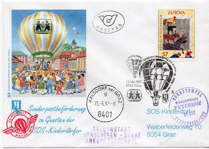 AUSTRIA, ,CARTA, ,1997 , MICHEL 2221, FDC (Sellos - Extranjero - Europa - Austria)