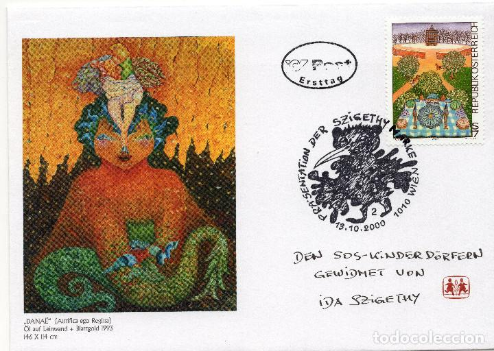 AUSTRIA, ,CARTA, ,2000, MICHEL 2331, FDC (Sellos - Extranjero - Europa - Austria)