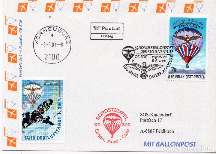 AUSTRIA, ,CARTA, ,2001, MICHEL 2346, FDC (Sellos - Extranjero - Europa - Austria)