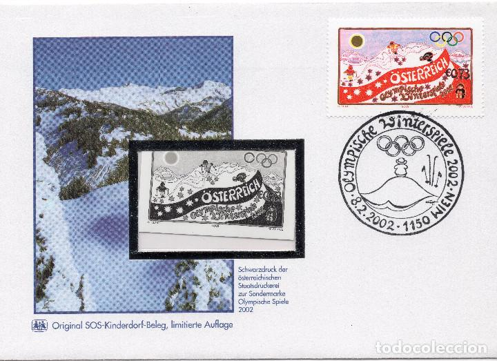 AUSTRIA, ,CARTA, ,2002, MICHEL 2369, FDC (Sellos - Extranjero - Europa - Austria)