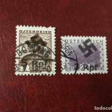 Sellos: AUSTRIA REICHPFENING SEGUNDA GUERRA MUNDIAL WWII OCUPACION.. Lote 235190760