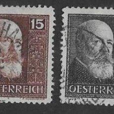Sellos: SELLOS USADOS DE AUSTRIA, YT 374/ 77, FOTO ORIGINAL. Lote 235881560