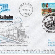 Sellos: AUSTRIA, 1994 ,CARTA, MICHEL , 2131. Lote 236536565