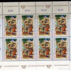 Sellos: AUSTRIA, 1994 ,MINI-SHEET, MICHEL ,2127KB. Lote 236537125