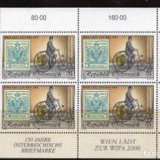 Sellos: AUSTRIA, 1997 ,MINI-SHEET, MICHEL ,2222KB MNH. Lote 236538965