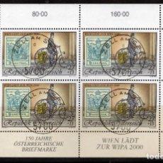 Sellos: AUSTRIA, 1997 ,MINI-SHEET, MICHEL ,2222KB FDC. Lote 236539015