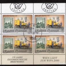 Sellos: AUSTRIA, 1998 ,MINI-SHEET, MICHEL ,2270KB FDC. Lote 236539625