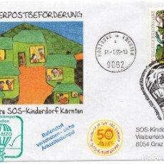 Sellos: AUSTRIA, 1998 ,CARTA, MICHEL ,2260. Lote 236540100