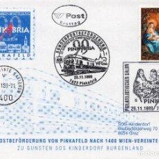 Sellos: AUSTRIA, 1999 ,CARTA, MICHEL ,2301. Lote 236540675