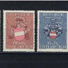 Sellos: AUSTRIA. AÑO 1949. EN BENEFICIO DE LOS PRISIONEROS DE GUERRA.. Lote 240222275