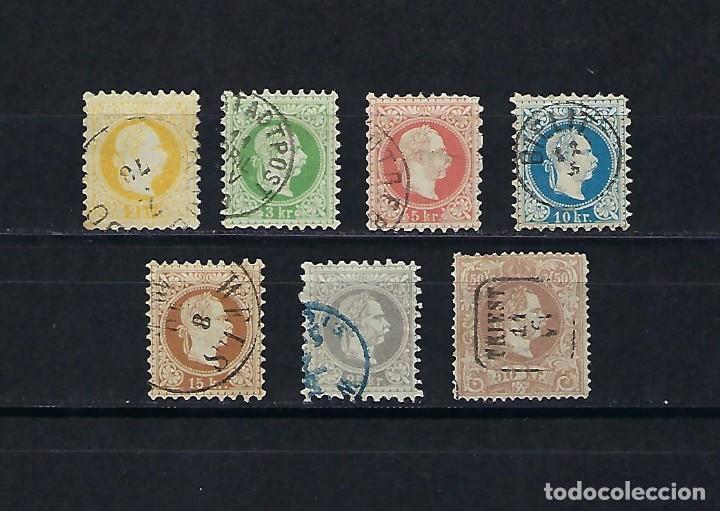AUSTRIA. AÑOS 1867- 80. FRANCISCO JOSE. (Sellos - Extranjero - Europa - Austria)