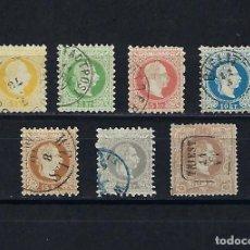 Sellos: AUSTRIA. AÑOS 1867- 80. FRANCISCO JOSE.. Lote 240229080