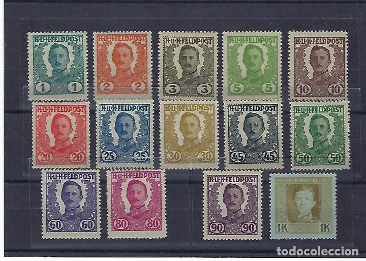 AUSTRIA - HUNGRÍA. AÑO 1918. CARLOS I. (Sellos - Extranjero - Europa - Austria)