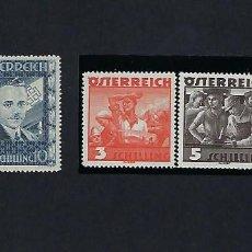 Sellos: AUSTRIA. AÑO 1936. CANCILLER DOLLFUSS.. Lote 242491195