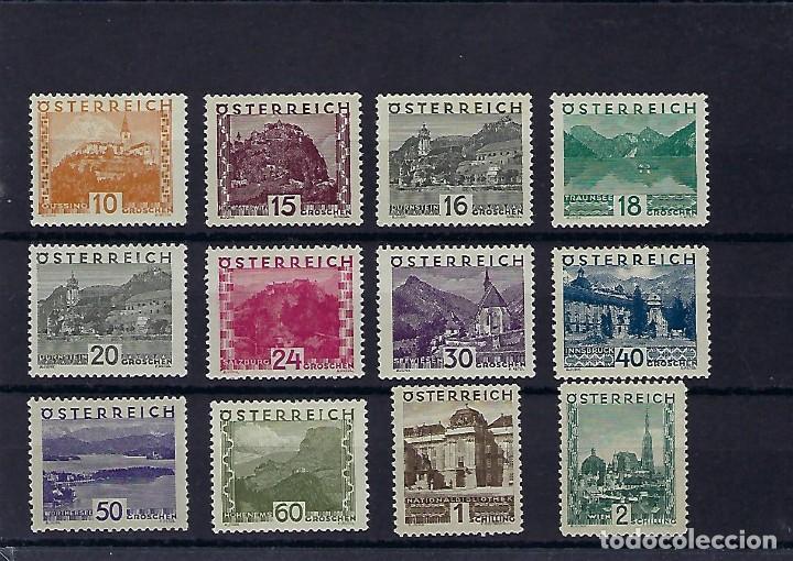 AUSTRIA. AÑOS 1929-31. PAISAJES. (Sellos - Extranjero - Europa - Austria)