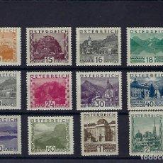 Sellos: AUSTRIA. AÑOS 1929-31. PAISAJES.. Lote 242822035