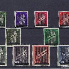 Sellos: AUSTRIA. AÑO 1945. SELLOS DE ALEMANIA DE 1941-45 ( EFIGIE DE HITLER ).. Lote 244225100