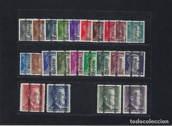 AUSTRIA. AÑO 1945. SELLOS ALEMANIA DE 1941-5 ( EFIGIE DE HITLER ).SOBRECARGADOS (Sellos - Extranjero - Europa - Austria)
