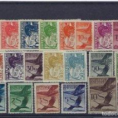 Sellos: AUSTRIA. AÑOS 1925 - 30. AVIADOR Y GRULLA.. Lote 244280105