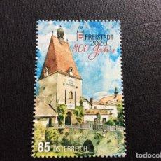Francobolli: AUSTRIA AÑO 2020. 800 ANIVERSARIO DE FREISTADT. Lote 245124790