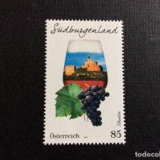 Sellos: AUSTRIA AÑO 2020. REGIONES VINICOLAS AUSTRIACAS- BURGENLAND SUR. Lote 245126985