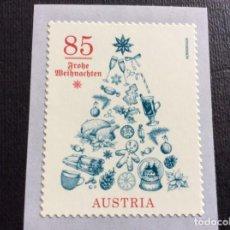 Sellos: AUSTRIA AÑO 2020. NAVIDAD II. ARBOL. Lote 245283145