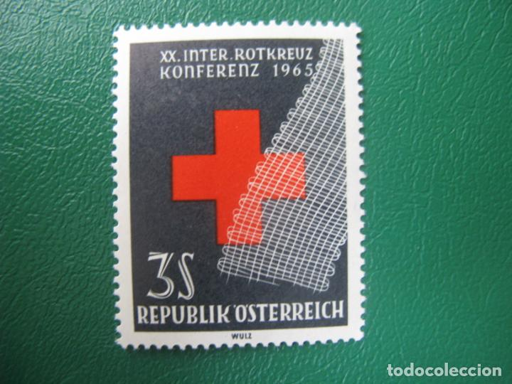 -AUSTRIA, 1965, 20 CONFERENCIA DE CRUZ ROJA INTERNACIONAL EN VIENA, YVERT 1030 (Sellos - Extranjero - Europa - Austria)