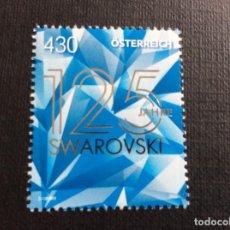 Francobolli: AUSTRIA AÑO 2020. 125 ANIVERSARIO DE SWAROVSKI. Lote 245307210