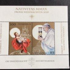 Francobolli: AUSTRIA AÑO 2020. RELIGION. EMISION CONJUNTA CON VATICANO. Lote 245307515