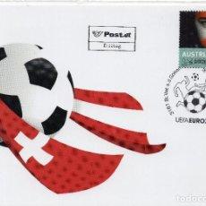 Sellos: AUSTRIA , 2008, , MICHEL 2739 CARTA FDC. Lote 245937760