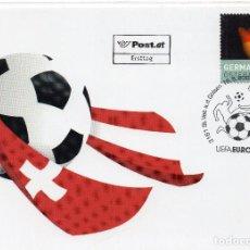 Sellos: AUSTRIA , 2008, , MICHEL 2744 CARTA FDC. Lote 245938105
