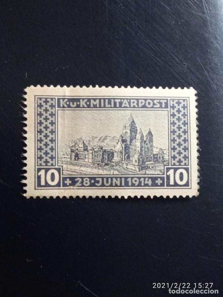 AUSTRIA OSTERREICH 10, K.U.K MILITAR POST AÑO 1914. (Sellos - Extranjero - Europa - Austria)