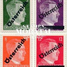 Timbres: [26] 1945 AUSTRIA YV 535/538 SELLOS DE ALEMANIA HITLER SOBRECARGADOS **MNH PERFECTO ESTADO, NUEVO SI. Lote 248215495