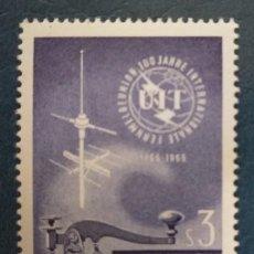 Sellos: AUSTRIA 1965. ***MNH. YT:AT 1018,. Lote 251439090