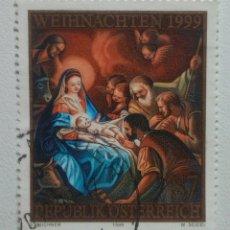 Sellos: AUSTRIA 1999 NAVIDAD SELLO USADO. Lote 253235470