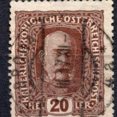 Sellos: AUSTRIA 1916, STAMP ,, MICHEL 191. Lote 253915555