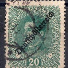 Sellos: AUSTRIA 1918, STAMP ,, MICHEL 234. Lote 253915705