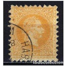 Francobolli: 1867 AUSTRIA MICHEL 35 YVERT 32 EMPERADOR FRANCISCO JOSÉ - USADO. Lote 254680875