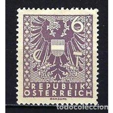 Sellos: 1945 AUSTRIA MICHEL 700 YVERT 580 ESCUDO - NUEVO. Lote 254686855