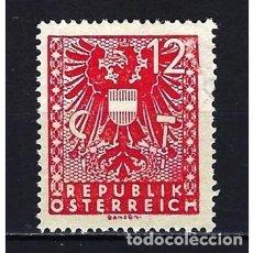 Sellos: 1945 AUSTRIA MICHEL 703 YVERT 583 ESCUDO - NUEVO. Lote 254686955