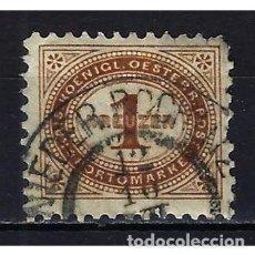 Sellos: 1894 AUSTRIA MICHEL 1 YVERT 1 TASAS - USADO. Lote 254690300
