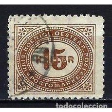 Sellos: 1900 AUSTRIA MICHEL 30 YVERT 30 TASAS - USADO. Lote 254690515