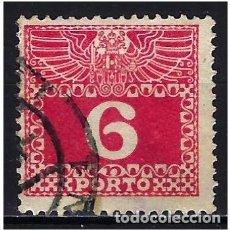Sellos: 1908 AUSTRIA MICHEL 37 YVERT 37 TASAS - USADO. Lote 254691295