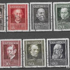 Sellos: SELLOS USADOS DE AUSTRIA 1937, YT 506/ 14, FOTO ORIGINAL. Lote 255396885
