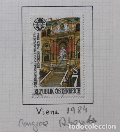 AUSTRIA. CONGRESO DE ABOGADOS EN VIENA 1984 (Sellos - Extranjero - Europa - Austria)