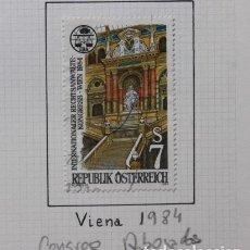 Sellos: AUSTRIA. CONGRESO DE ABOGADOS EN VIENA 1984. Lote 257479200